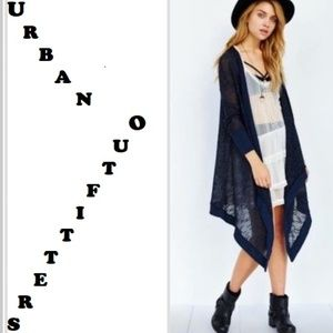 Kimchi Blue Urban Outfitters Draped Jacket Sweater
